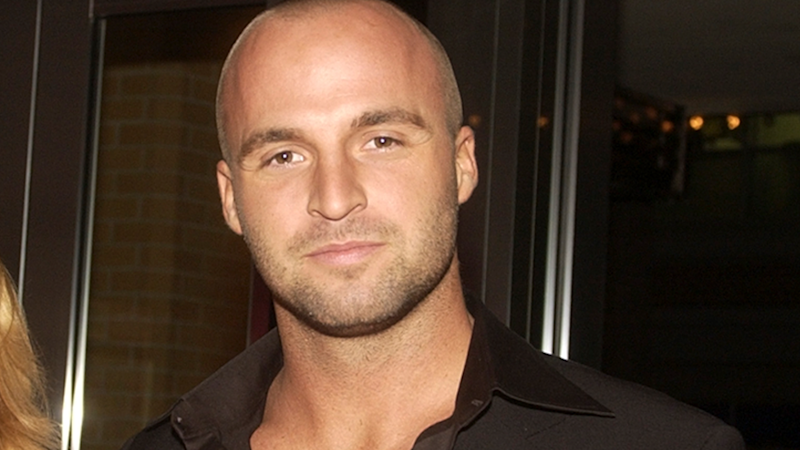 A photo of late Home and Away star Ben Unwin at the first Australian Cosmopolitan Annual Style Awards at the Director's Suite at Fox Studios in Sydney in 2003.