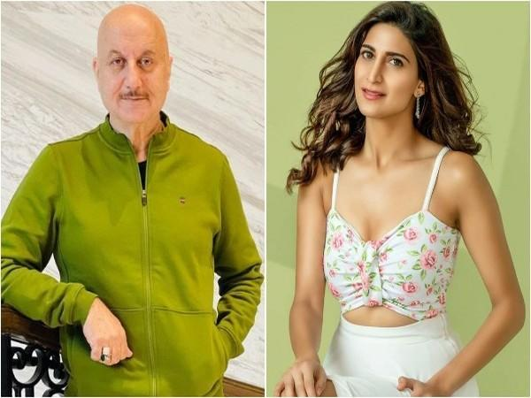 Anupam Kher and Aahana Kumra (Image source: Instagram)