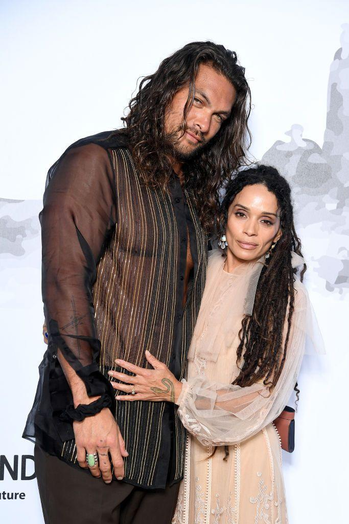 "<p>When two extremely good-looking people get together, all is right in the world. Jason Momoa and Lisa Bonet met at a jazz club in 2005, and Momoa knew pretty much right away that she was the one.</p><p>""We sat down, she ordered a Guinness and that was it,"" he told <a href=""https://www.youtube.com/watch?v=cOc3tsFWoRs"" rel=""nofollow noopener"" target=""_blank"" data-ylk=""slk:James Corden"" class=""link rapid-noclick-resp"">James Corden</a>. ""I beyond love Guinness. … We had Guinness and grits, and the rest is history.""</p>"