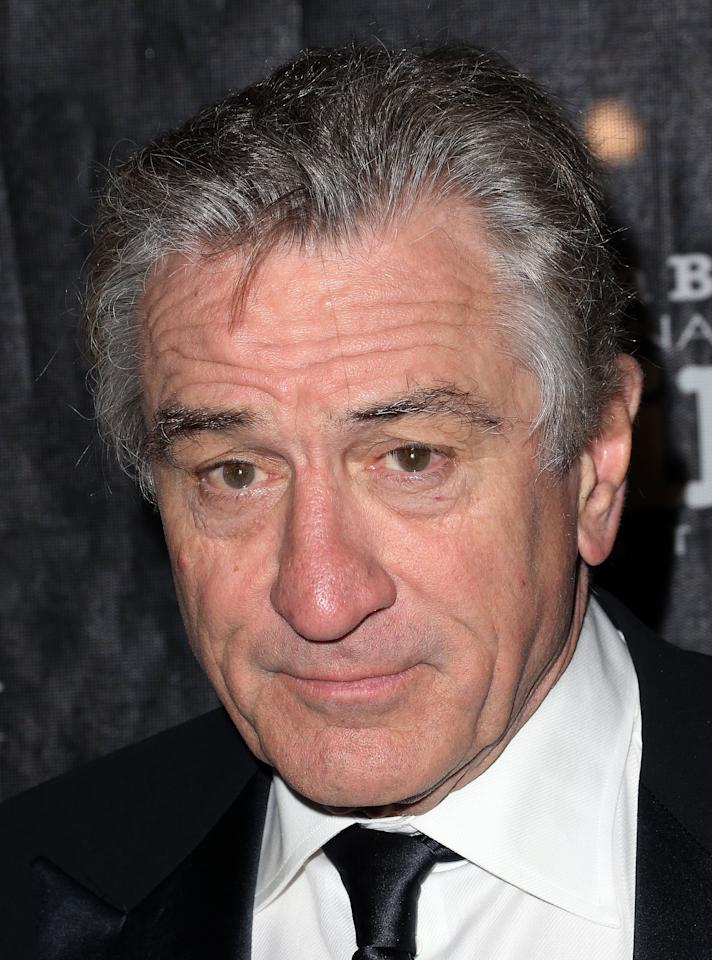 GOLETA, CA - DECEMBER 08: Actor Robert De Niro attends the SBIFF's 2012 Kirk Douglas Award for Excellence In Film during the Santa Monica Film Festival on December 8, 2012 in Goleta, California.  (Photo by Frederick M. Brown/Getty Images)