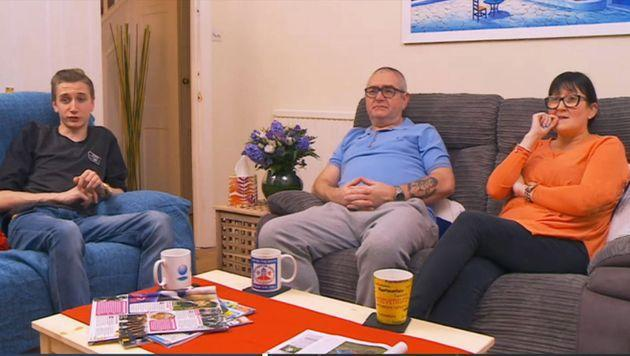 The Manuels on Gogglebox in 2016 (Photo: Channel 4)