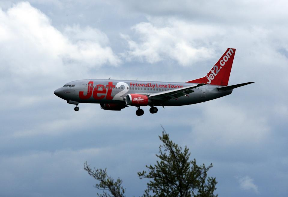 Jet2 said there had been scant detail on the 'traffic light' framework for destinations. Photo: AP Photo/Scott Heppell