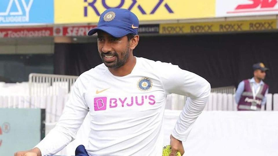 Australia vs India: Wriddhiman Saha showing signs of recovery