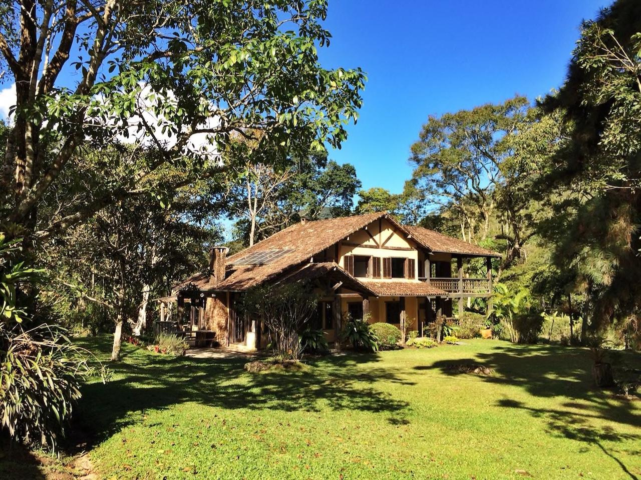 <p>Tucked in the heart of the Atlantic Rainforest in Nova Friburgo, Brazil is a rustic lodge, which can be yours for $224 a night. (Airbnb) </p>