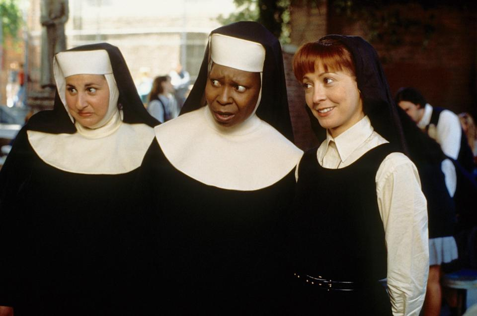 "<p>I've only seen <em>Sister Act</em> once, but I've seen <em>Sister Act 2: Back in the Habit</em> at least 50 times. Why? First off, we have Whoopi Goldberg, Lauryn Hill, Dame Maggie Smith, and Jennifer Love Hewitt. (Name a more iconic cast.) Then there's the ""<a href=""https://www.youtube.com/watch?v=z-4mtA6Z88k"" rel=""nofollow noopener"" target=""_blank"" data-ylk=""slk:Oh Happy Day"" class=""link rapid-noclick-resp"">Oh Happy Day</a>"" scene that Harry Styles <a href=""https://www.bbc.co.uk/music/articles/623b246f-3e51-4cee-98d1-d1032ce421f2"" rel=""nofollow noopener"" target=""_blank"" data-ylk=""slk:once said"" class=""link rapid-noclick-resp"">once said</a> inspired him to become a singer. (Taste!) And, of course, there's the final sequence that somehow mixes Janet Jackson and Naughty By Nature into an unforgettable remix of ""Joyful, Joyful."" It's impossible to walk away without a smile on your face. — <em>MH</em></p> <p><a href=""https://www.disneyplus.com/video/a5af1cef-26b0-49a6-89c0-c8cc40251367?pid=AssistantSearch"" rel=""nofollow noopener"" target=""_blank"" data-ylk=""slk:Stream here"" class=""link rapid-noclick-resp""><em>Stream here</em></a></p>"
