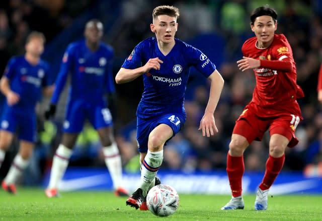 Billy Gilmour has enjoyed a great start to his Chelsea career (PA)