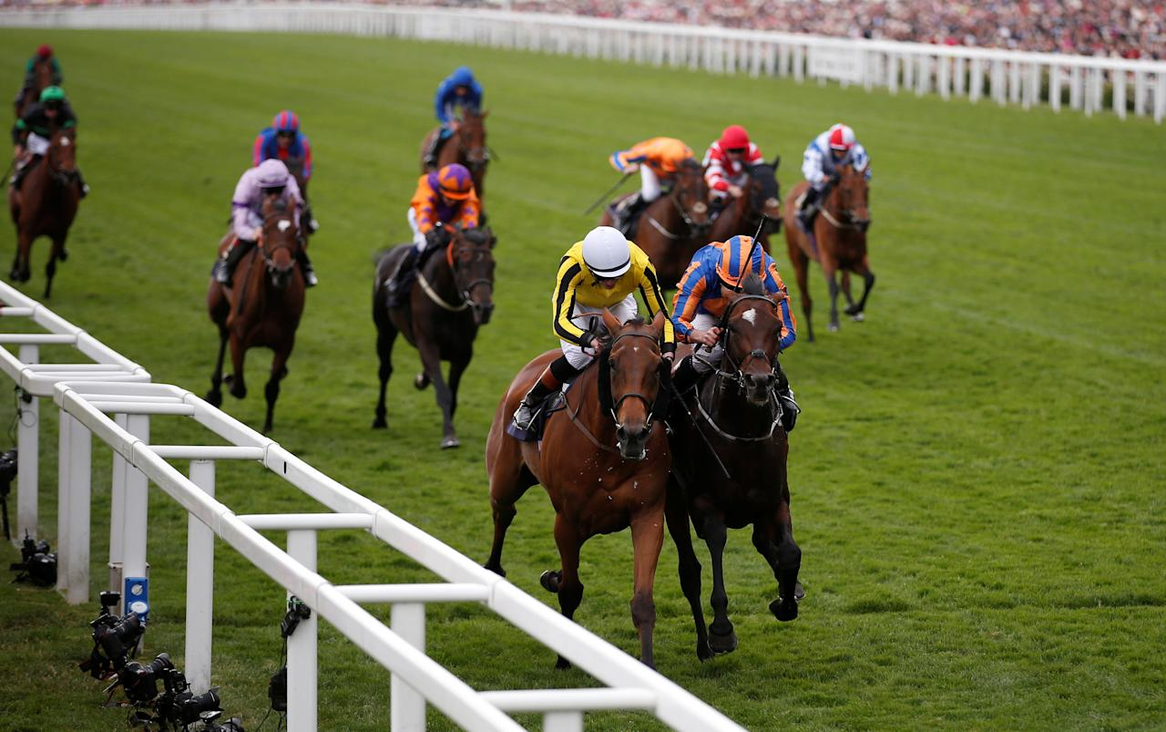 Horse Racing - Royal Ascot - Ascot Racecourse, Ascot, Britain - June 22, 2017   James Doyle wins the 4.20 Gold Cup on Big Orange   Action Images via Reuters/Matthew Childs