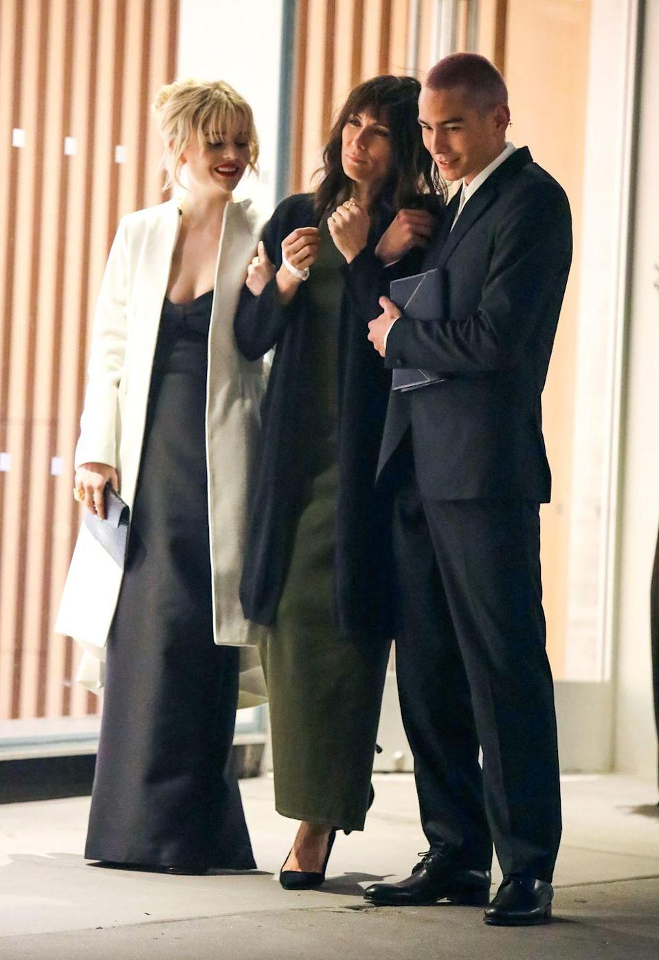 <p>Looks like Laura Benanti is in the show! The seasoned Broadway and TV actress is seen filming with Emily Alyn Lind and Evan Mock. </p>