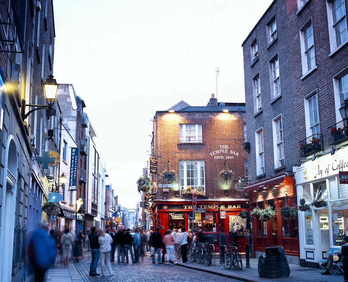 """<p>Ah, Dublin. As the country's capital, it's probably the first place you think of when you think of Ireland. And don't get me wrong - Dublin is beautiful and so much fun, but if you're visiting Ireland, don't spend more than a day here, two days tops. Why? It's very similar to most big European cities, and after you do the obvious highlights like take a tour of the <a href=""""https://www.guinness-storehouse.com/en"""" target=""""_blank"""" class=""""ga-track"""" data-ga-category=""""Related"""" data-ga-label=""""https://www.guinness-storehouse.com/en"""" data-ga-action=""""In-Line Links"""">Guinness Storehouse</a>, grab a drink in Temple Bar, and walk down Grafton Street and through St Stephen's Green, you're basically done. </p> <p>Since you'll probably fly into Dublin airport, a good strategy is to take a nap at your hotel after you land in the morning, head out and see the city for the rest of the day, get a good night's sleep, and then leave the city the next morning or afternoon.</p>"""