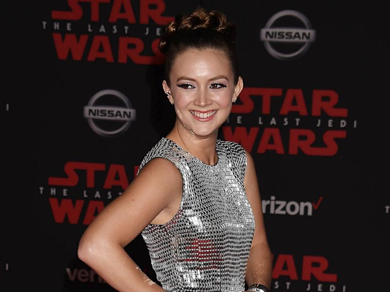 """Star Wars: Der letzte Jedi""-Premiere: Billie Lourd zollt Mutter Carrie Fisher Tribut"