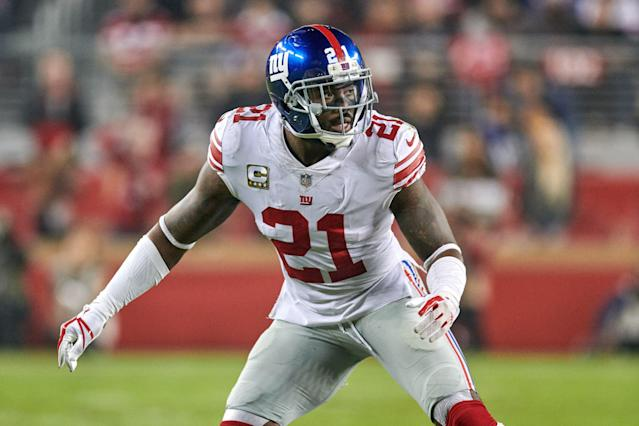 Landon Collins got a big pay raise this offseason and is headed to Washington on a deal that reportedly guarantees him $45 million. (Getty Images)