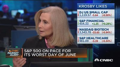Quincy Krosby, Prudential Financial chief market strategist, and Sandy Villere, Villere Balanced Fund co-portfolio manager, discuss how to approach the market amid global trade tensions.