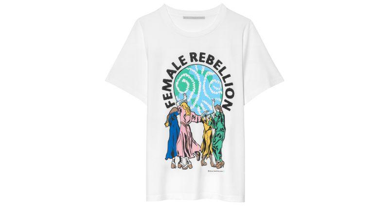 Stella McCartney T-Shirt zum Internationalen Frauentag