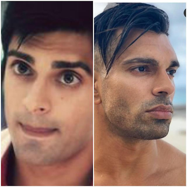 The pic on the left in a screen-grab from <em>Dil Mil Gaye</em>, and the one on the right is a recent click of the actor shared by him on Instagram, and the looks couldn't be more contrasted. Being an old-school romantic, I prefer the former. But do hop on the comment section and let us know if you find this hep avatar better.