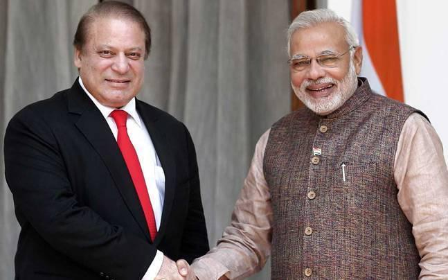 Did PM Modi have a special message hand delivered to Pakistan PM Nawaz Sharif?