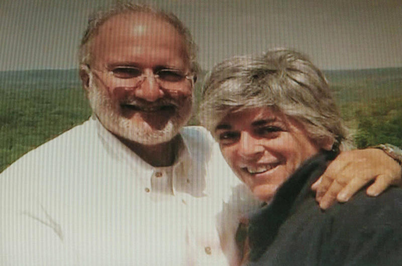 """This undated family photo released by Judy Gross, posted in the Internet and taken from a computer screen, shows her with her husband Alan Gross, left, in an undisclosed location. Judy Gross, The wife of a Maryland man jailed in Cuba as an accused spy said Tuesday, Oct. 26, 2010, that she and her husband have been able to talk on the telephone more regularly after she wrote an August letter to Cuban President Raul Castro, but that her husband's health is """"not great."""" (AP Photo/Gross Family) NO SALES"""