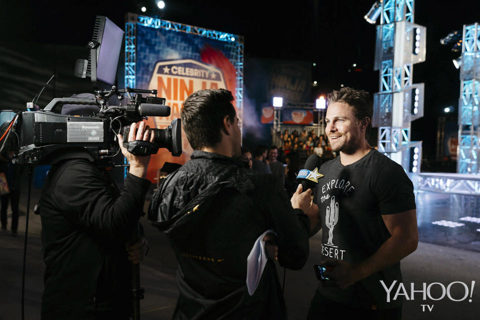 <p>The new season of <em>American Ninja Warrior</em> premieres June 12 at 8 p.m. on NBC.<br><br>(Photo by Ryan Tuttle/NBC) </p>