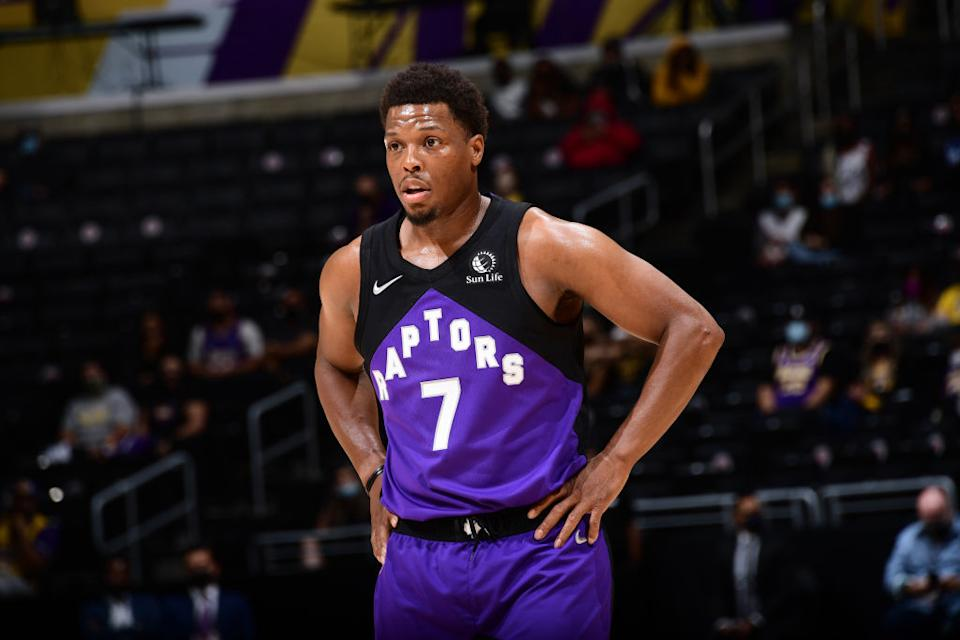 Kyle Lowry laid out what factors will play into his upcoming free-agency decision at his year-end press conference on Tuesday. (Getty)