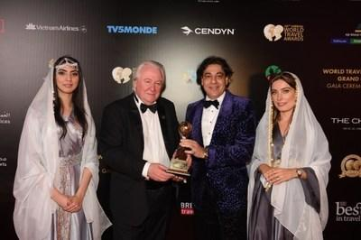 Deepak Ohri, CEO of lebua Hotels and Resorts was honored with 'World's Leading Travel Personality' Award 2019. The award was presented by Graham Cooke, President & Founder of World Group.