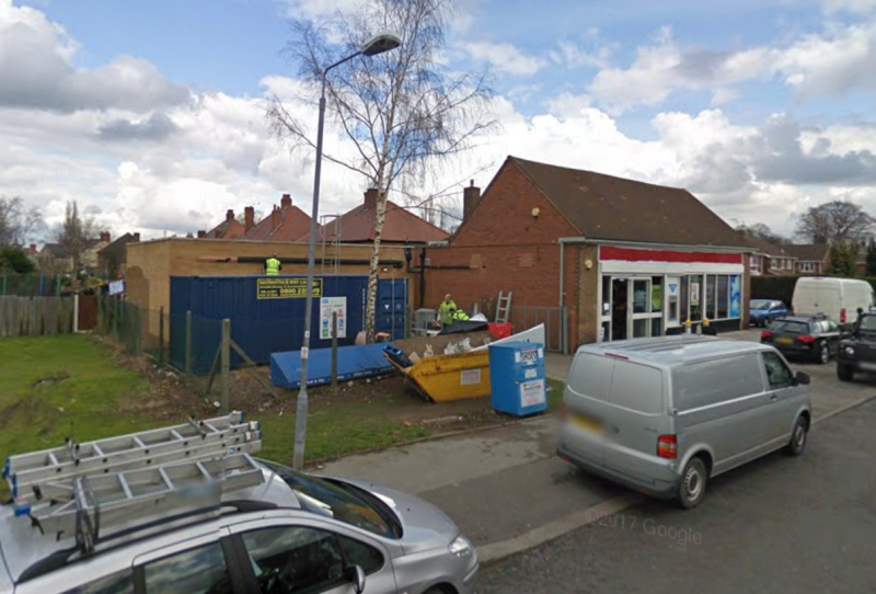 The suffering animal was brought into the Co-op store in Ordsall. (Google)
