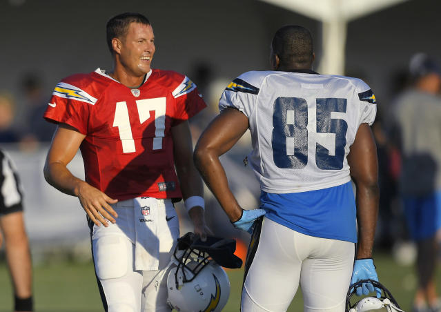 Chargers quarterback Philip Rivers has found an efficient way to commute between his San Diego-area home and the Chargers' new facility. (AP)