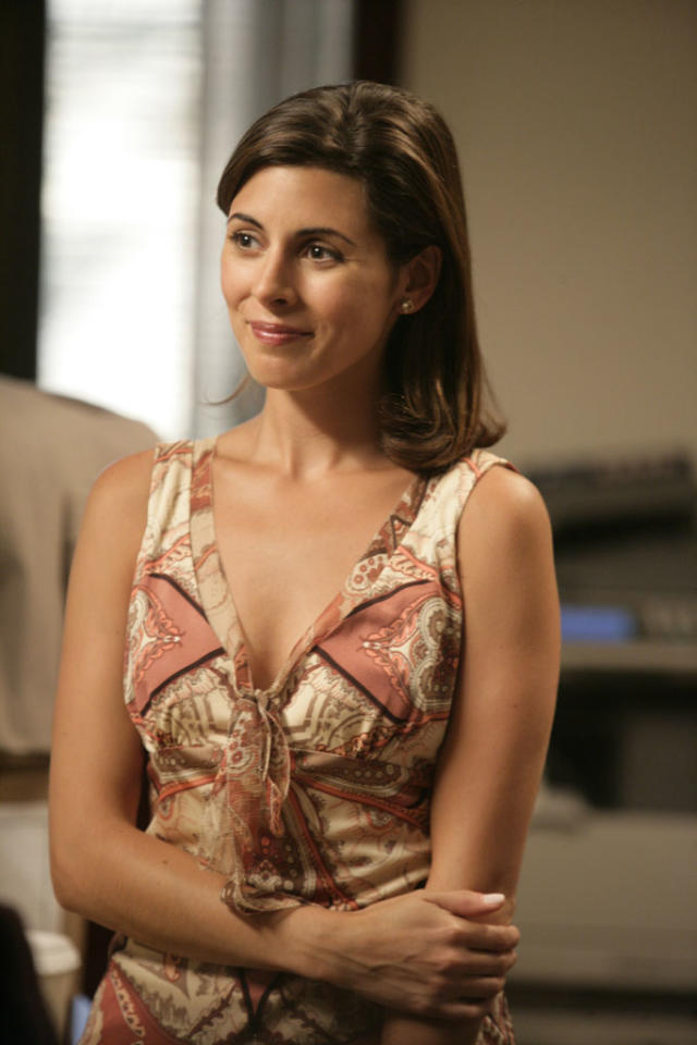 "Jamie-Lynn Sigler in HBO's ""The Sopranos."""