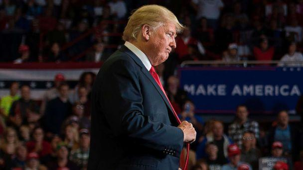 PHOTO: President Donald Trump attends a Make America Great Again rally in Cape Girardeau, Mo., Nov. 5, 2018. (Jim Watson/AFP/Getty Images)