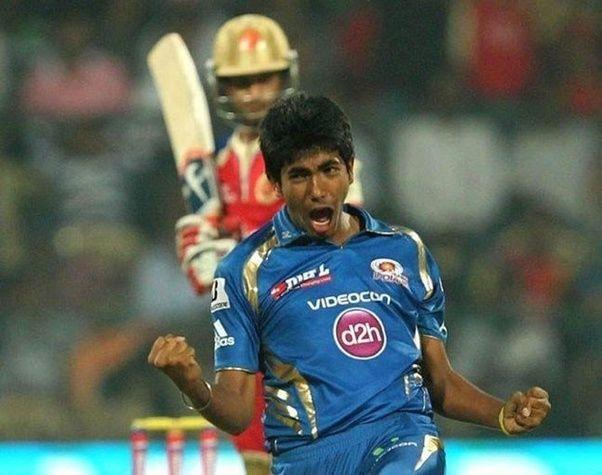 Jasprit Bumrah picked his first IPL wicket on the 4th ball of his career