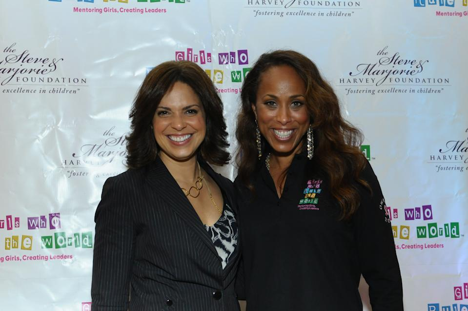 ATLANTA, GA - OCTOBER 28: (L-R) CNN Anchorwoman Soledad O'Brien and Marjorie Harvey attend The Steve & Marjorie Harvey Foundation's 2nd annual Girls Who Rule The World Mentoring Weekend - Day 1 at Evergreen Marriott Conference Resort on October 28, 2011 in Atlanta, Georgia. (Photo by Moses Robinson/Getty Images for The Steve & Marjorie Harvey Foundation)