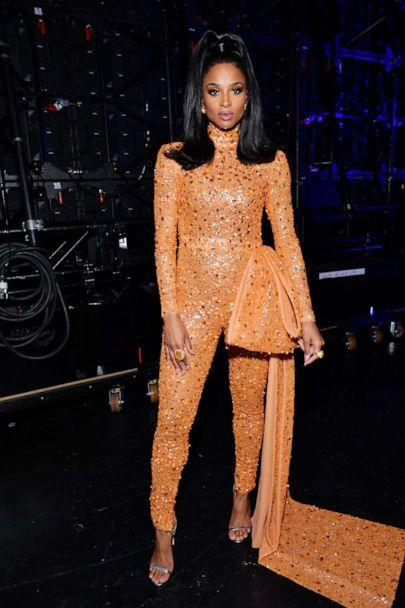 PHOTO: Ciara poses backstage during the 2019 American Music Awards at Microsoft Theater on Nov. 24, 2019 in Los Angeles. (Emma Mcintyre/ama2019/Getty Images)