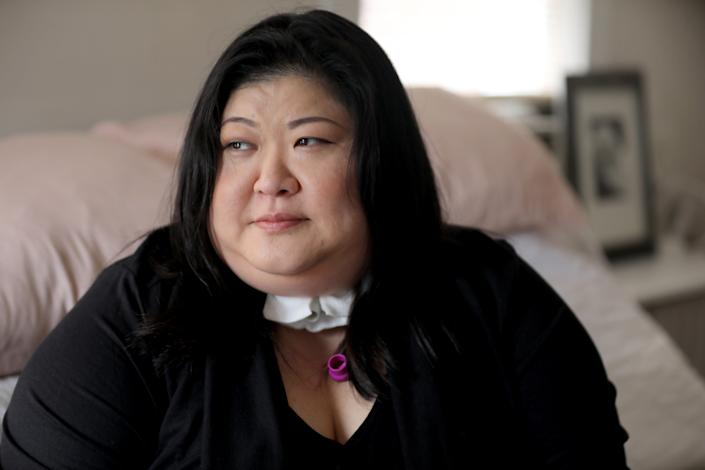 Lucy Kong of Queens has undergone three surgeries, including a tracheostomy. This month a fourth surgery is scheduled that she hopes will include removal of the tracheostomy.