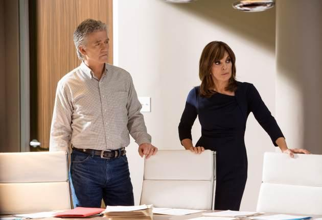 Patrick Duffy and Linda Gray in 'Dallas' -- TNT
