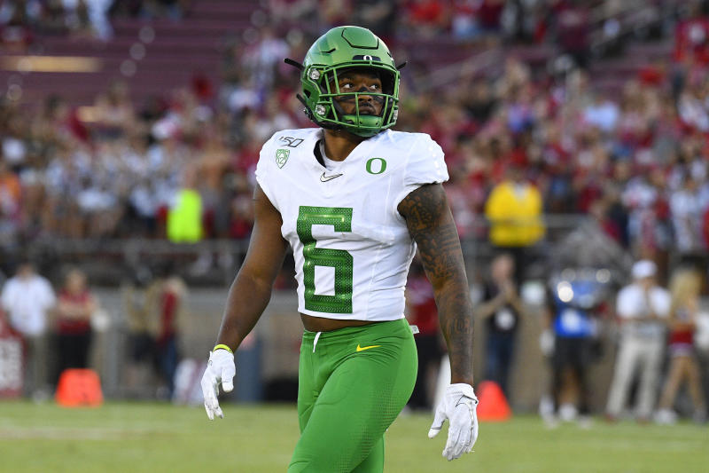 Oregon CB Deommodore Lenoir is a name to remember for the Ducks. (Getty Images)