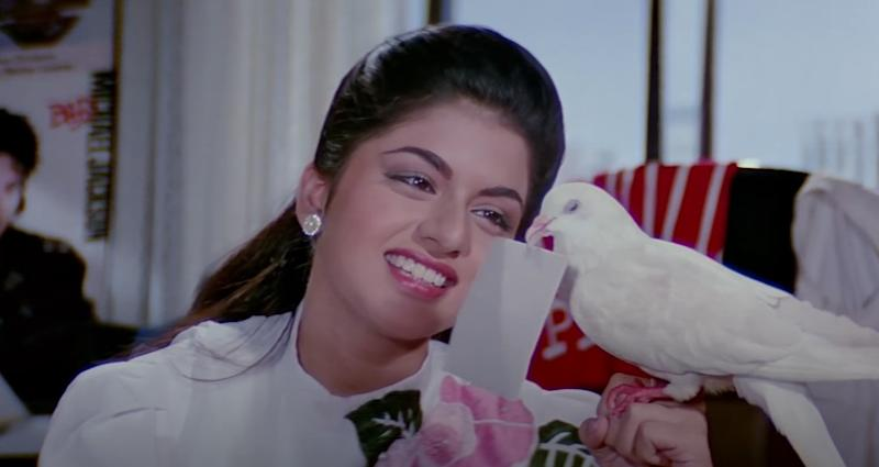 Bhagyashree in 'Maine Pyar Kiya'