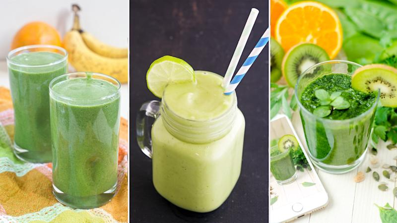 17 Easy Green Smoothie Recipes You'll Like Even If You Aren't Healthy