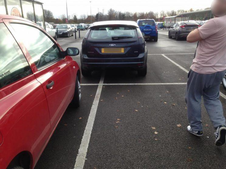 But other drivers use Luke's technique of parking (Mercury Press)