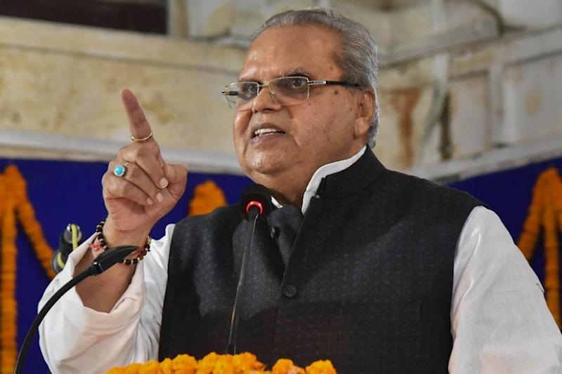 Tipped to be Jammu and Kashmir's First L-G, Satya Pal Malik Hits Out Over His 'Weak' Position