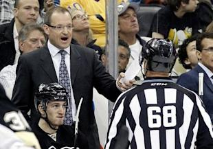 The Penguins announced the firing of coach Dan Bylsma, who guided Pittsburgh to the Stanley Cup in 2009. (Reuters)