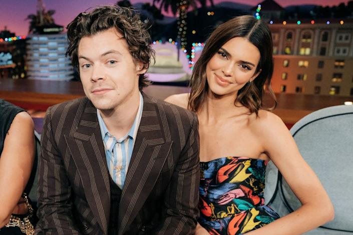 Harry Styles and Kendall Jenner | Terence Patrick/CBS