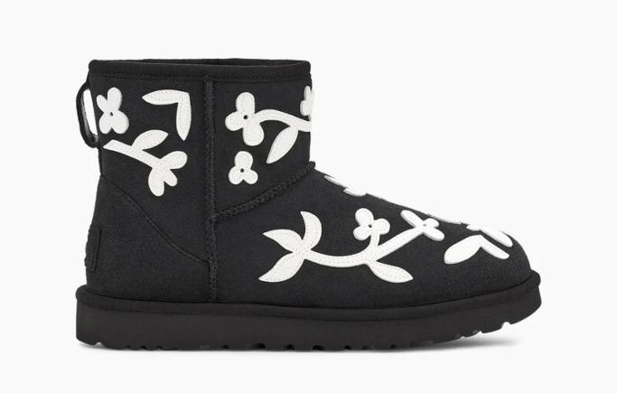 ugg x molly goddard classic mini boot