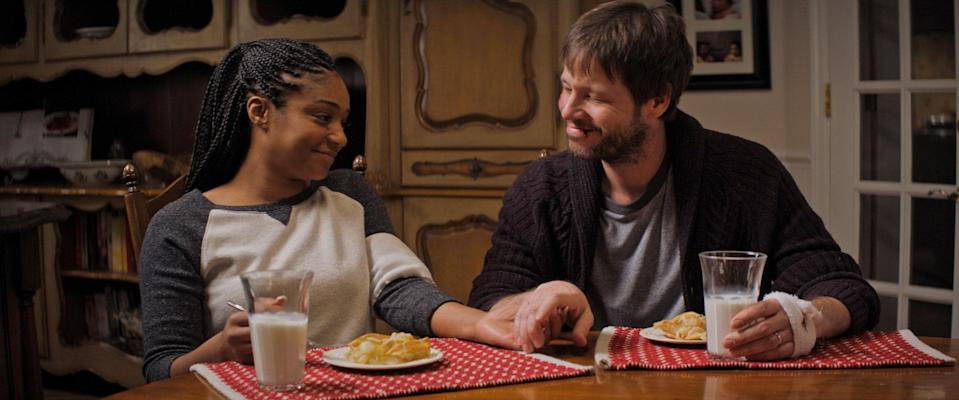 """<p>Ike Barinholtz wrote and directed this dark comedy about a situation you might understand all too well: spending Thanksgiving with family members you don't agree with politically. With Tiffany Haddish playing his wife and Ike's real-life brother Jon playing his conservative brother, it's more comedy than politics and centered around a fundamental Thanksgiving issue: Is this country something we want to celebrate like this? </p> <p><a href=""""https://www.hulu.com/movie/the-oath-d43e04d3-14ec-41e4-9c86-abd87ca0fe9d"""" rel=""""nofollow noopener"""" target=""""_blank"""" data-ylk=""""slk:Available to stream on Hulu"""" class=""""link rapid-noclick-resp""""><em>Available to stream on Hulu</em></a></p>"""