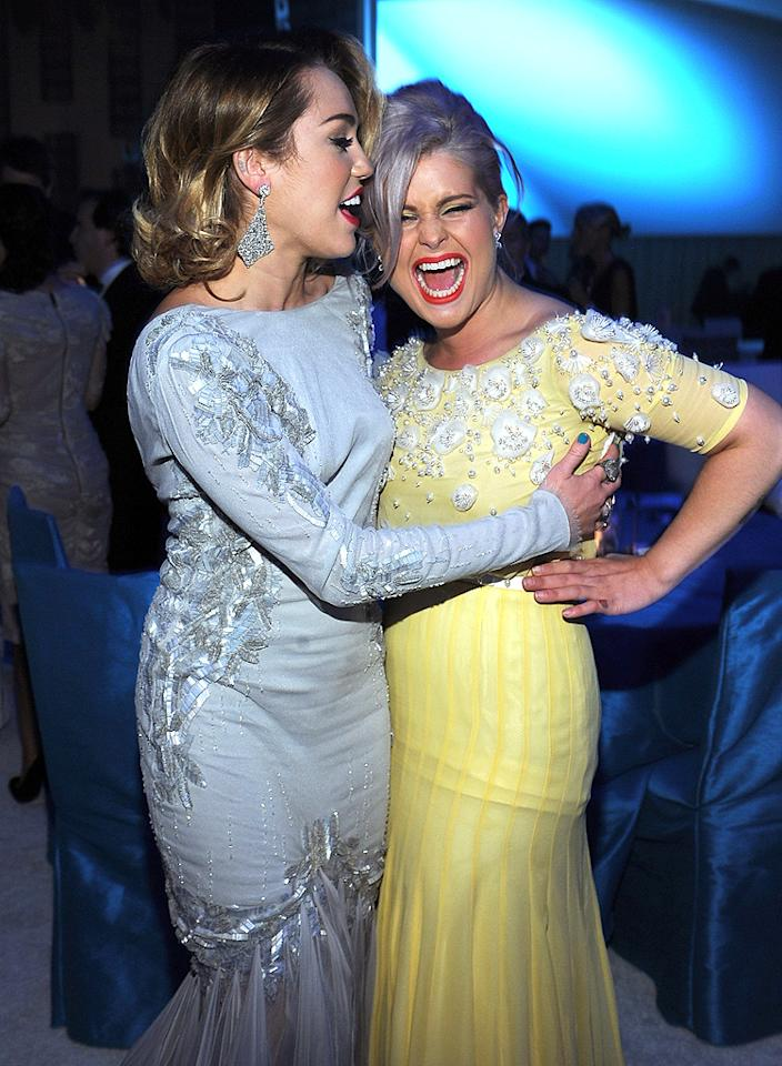 Would you want to party with Miley and Kelly Osbourne?