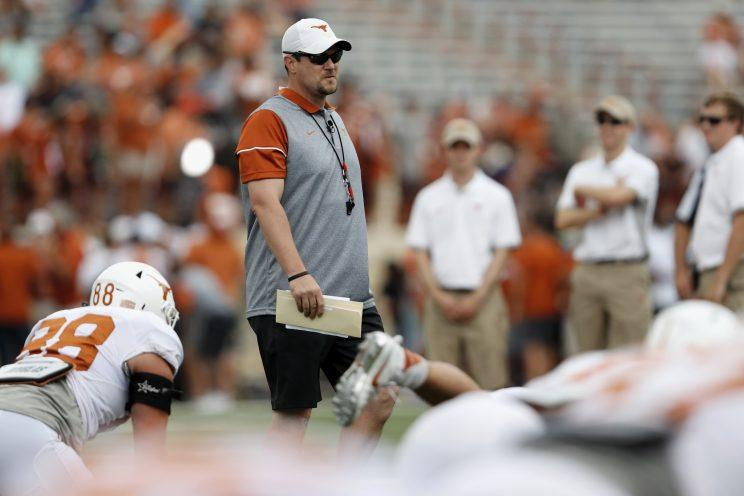 Tom Herman has changed the culture early in his Texas tenure. The question is whether it'll result in more Longhorn wins. (Getty)