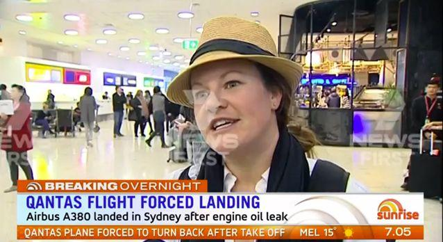 'Qantas has stressed it's all about our safety,' one passenger said. Source: 7 News