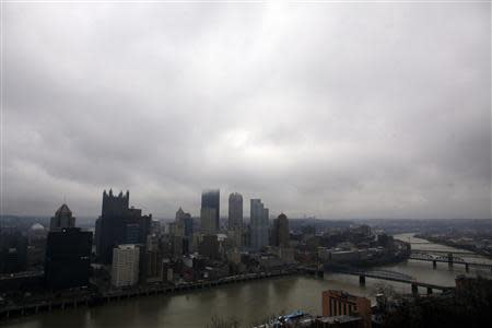General view of the city of Pittsburgh, Pennsylvania