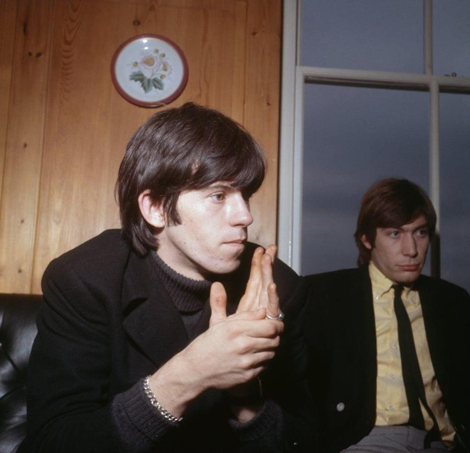Keith Richards and Charlie Watts (PA) (PA Archive)