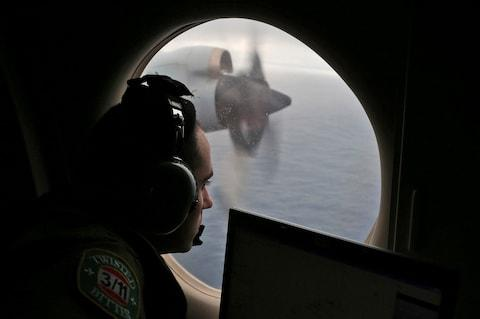 The search for MH370 covered a vast geographical area - Credit: AP