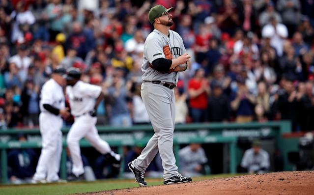 Rob Whalen isn't ready to close the door on baseball forever. (AP Photo)