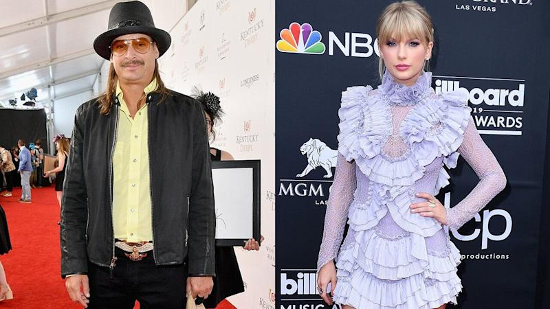 Kid Rock Mocks Taylor Swift's Political Activism in Crude Tweet