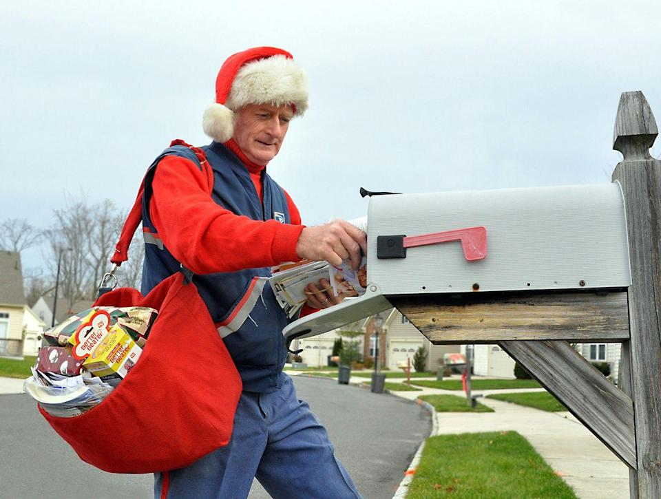 <p>Mail carriers work really hard, especially during the high-volume holiday season. Show them your appreciation by leaving them a nice thank-you note. If you send and receive lot of packages and mail, consider throwing in a gift card, too. </p>